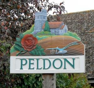 Peldon sign